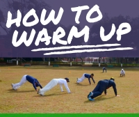 How to Warm Up for Cricket