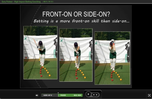 High Impact Batting Coaching Video