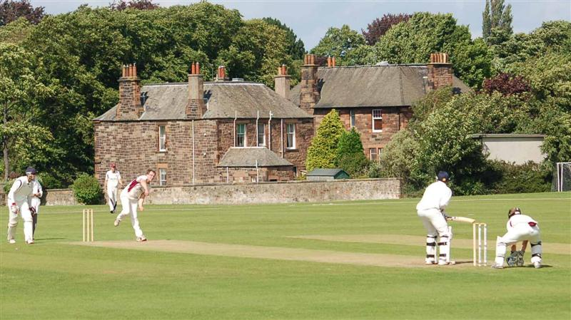 Myreside home of Watsonian CC