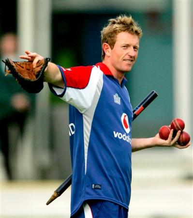 all rounder paul collingwood training